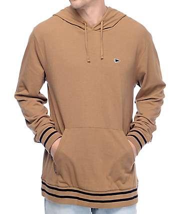 Primitive Pennant Khaki Pique Hooded Shirt
