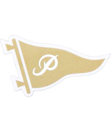 Primitive Pennant Logo Sticker