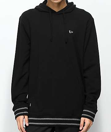 Primitive Pennant Pique Black Pullover Hoodie