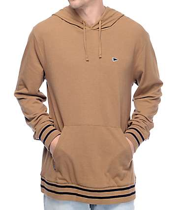 Primitive Pennant Pique Khaki Pullover Hoodie