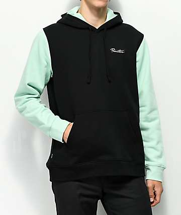 Primitive Port Mint & Black Hoodie