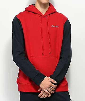 Primitive Port Navy & Red Hoodie