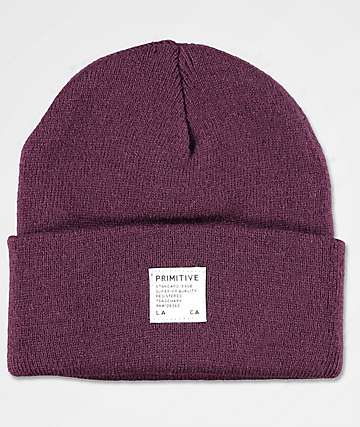 Primitive Registry Burgundy Beanie