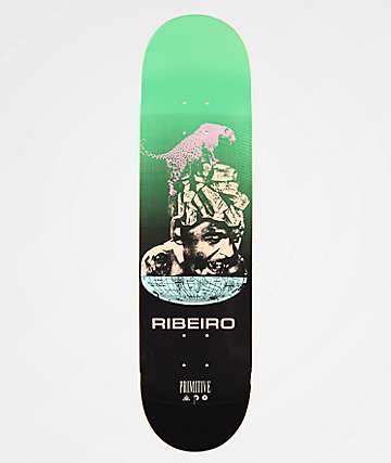 "Primitive Ribiero Equator 8.1"" Skateboard Deck"