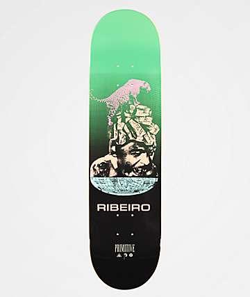 """Primitive Ribiero Equator 8.1"""" Skateboard Deck"""