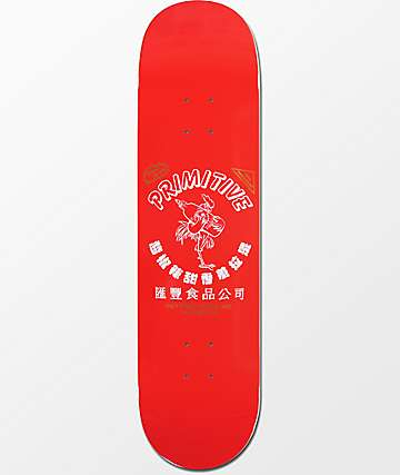 "Primitive Rodriguez Huy Fong Foods 8.12"" tabla de skate"