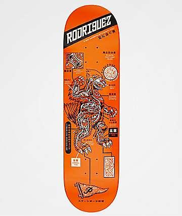 "Primitive Rodriguez Kaiju 8.0"" Skateboard Deck"