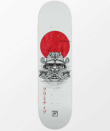 "Primitive Rodriguez PJ Samurai 8.25"" tabla de skate"