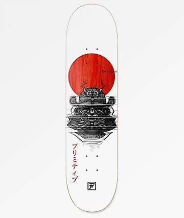 "Primitive Rodriguez Samurai 8.25"" Skateboard Deck"
