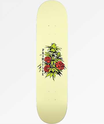 """Primitive Rosebud 8.0"""" Skateboard Deck"""