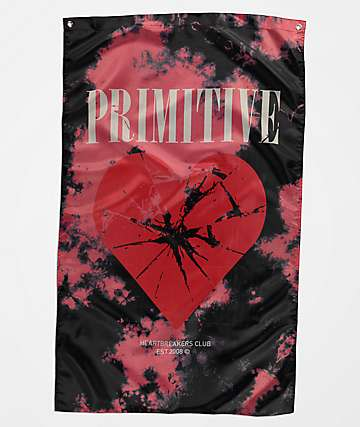 Primitive Shattered Black Banner