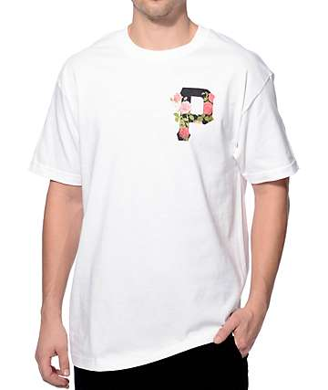 Primitive Slab Rose White T-Shirt