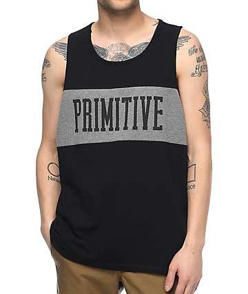 Primitive Sprinter League Black Tank Top