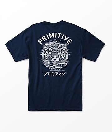 Primitive Tiger PJ Navy T-Shirt