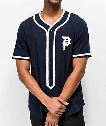 Primitive Tokyo Champs Navy Baseball Jersey