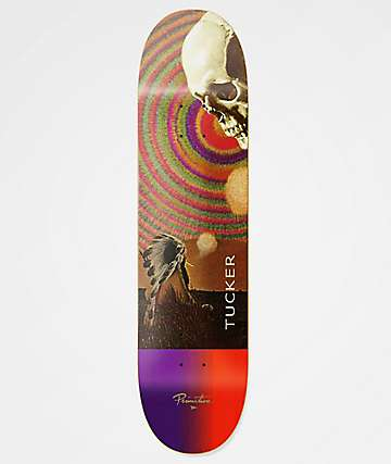 "Primitive Tucker Spirit Plane 8.25"" Skateboard Deck"