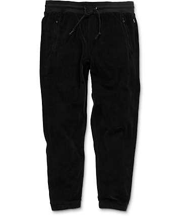 Primitive Velour Black Sweatpants