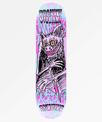 "Primitive Villani Franky Four Fingers 8.25"" Skateboard Deck"