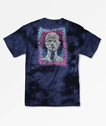 Primitive Vision Navy Washed T-Shirt
