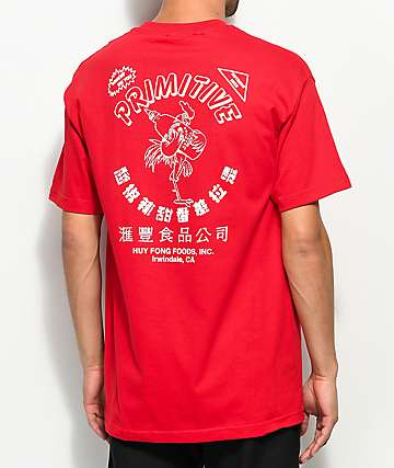 Primitive X Huy Fong Red T-Shirt