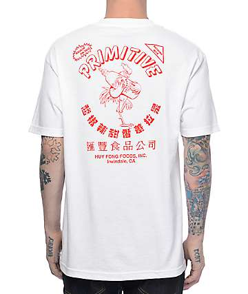 Primitive X Huy Fong White T-Shirt