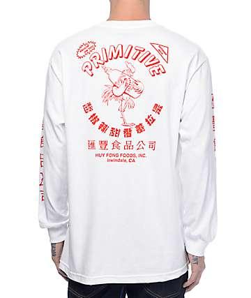 Primitive X Huy Fong camiseta blanca de manga larga