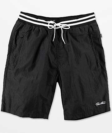 Primitive shorts texturizados en negro