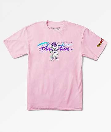 Primitive x Dragon Ball Z Boys Frieza Pink T-Shirt
