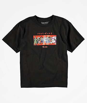 Primitive x Dragon Ball Z Boys Villains Black T-Shirt