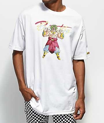 Primitive x Dragon Ball Z Broly White T-Shirt