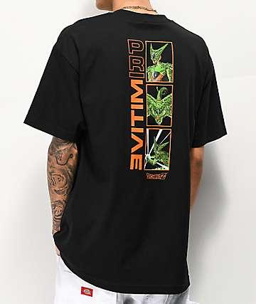 8d7c80b9a07 Primitive x Dragon Ball Z Cell Forms Black T-Shirt