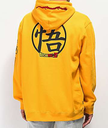 Primitive x Dragon Ball Z Club Yellow Hoodie