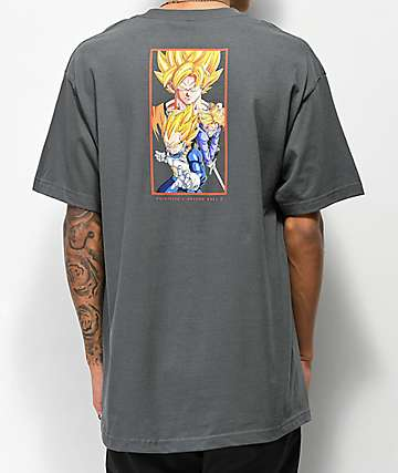 Primitive x Dragon Ball Z Dirty P Charcoal T-Shirt