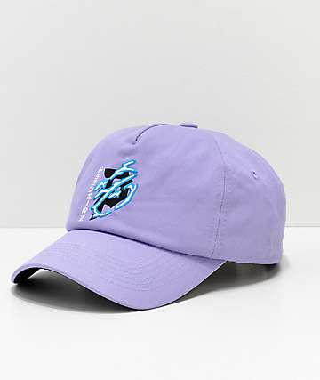 Primitive x Dragon Ball Z Dirty P Lightning Lavender Strapback Hat