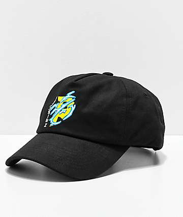 Primitive x Dragon Ball Z Dirty P Lightning gorra strapback en negro