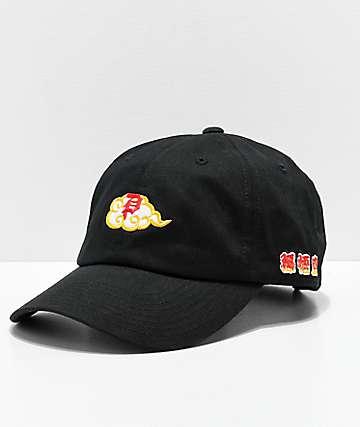 Primitive x Dragon Ball Z Dirty P Nimbus Black Strapback Hat