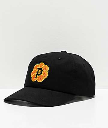 124c8209 Primitive x Dragon Ball Z Dirty P Wish Black Strapback Hat