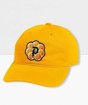 Primitive x Dragon Ball Z Dirty P Wish Gold Strapback Hat