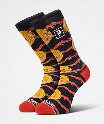 Primitive x Dragon Ball Z Dragon Jacquard Black Crew Socks