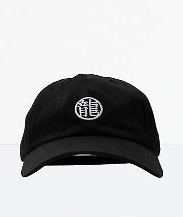 Primitive x Dragon Ball Z Dragon Symbol Black Strapback Hat