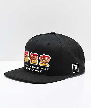Primitive x Dragon Ball Z Dragon gorra negra y naranja