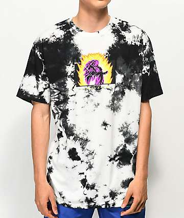 Primitive x Dragon Ball Z Goku Hyper Black Crystal Wash T-Shirt