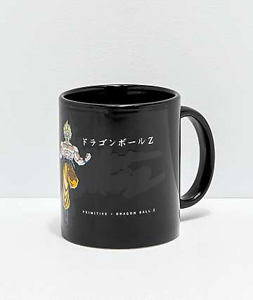 Primitive x Dragon Ball Z Goku Super Saiyan Mug