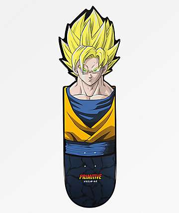 "Primitive x Dragon Ball Z Goku Team CNC 10.0"" Cruiser Deck"