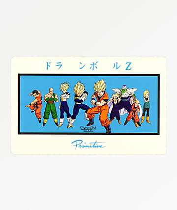 Primitive x Dragon Ball Z Heroes Sticker