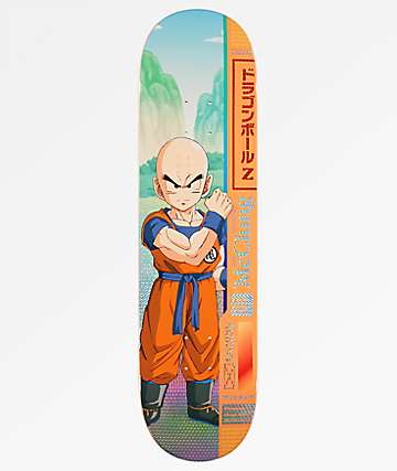 "Primitive x Dragon Ball Z McClung Krillin 8.125"" Skateboard Deck"
