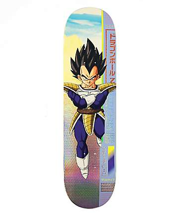 "Primitive x Dragon Ball Z McClung Vegeta 8.25"" Skateboard Deck"