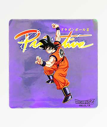 Primitive x Dragon Ball Z Nuevo Goku Sticker