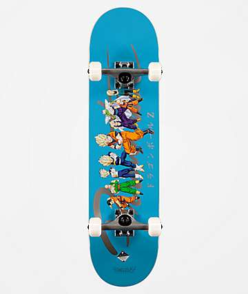 "Primitive x Dragon Ball Z Nuevo Heroes 7.75"" Skateboard Complete"
