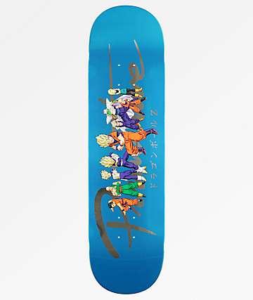 "Primitive x Dragon Ball Z Nuevo Heroes 8.0"" tabla de skate"